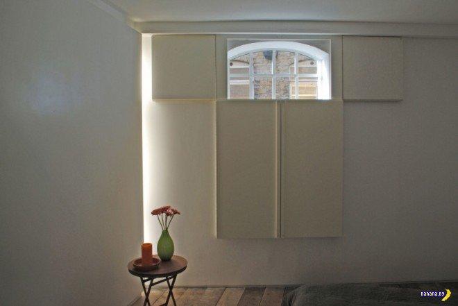 Белый лофт в Лондоне