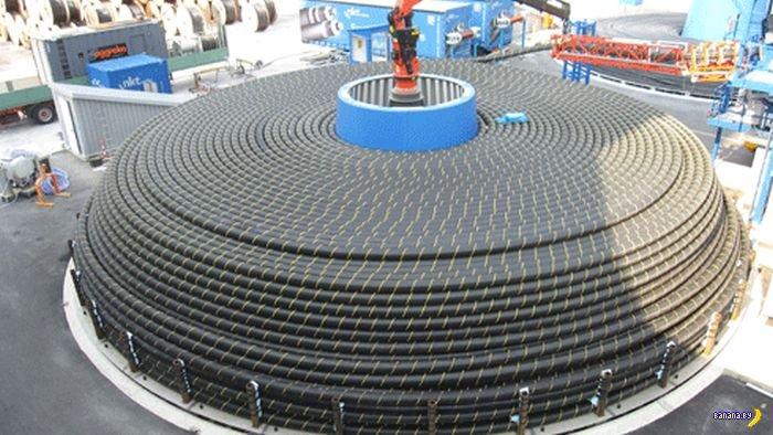 Подводный силовой кабель
