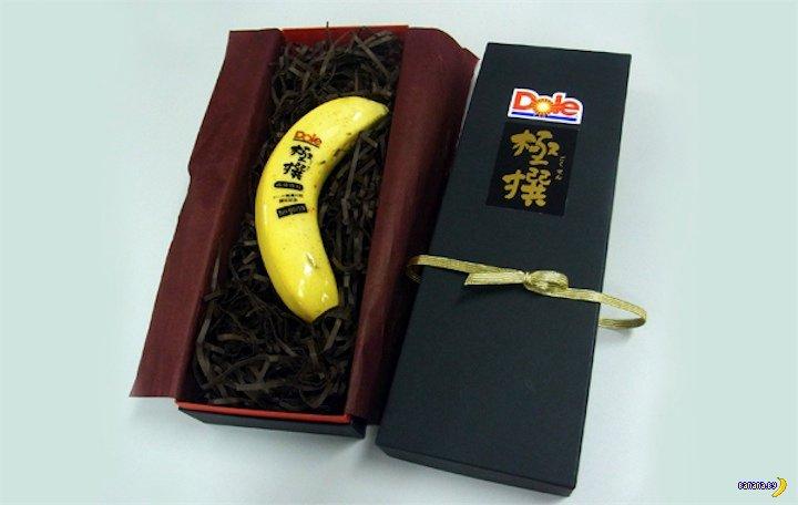 Лакшери-бананы продаются в Японии