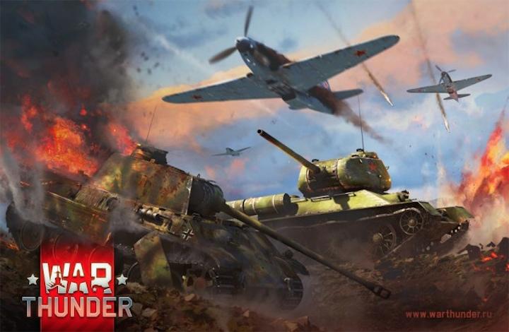 Теперь и танки в War Thunder!