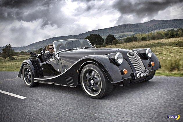Morgan Plus 8 - монстр в стиле ретро