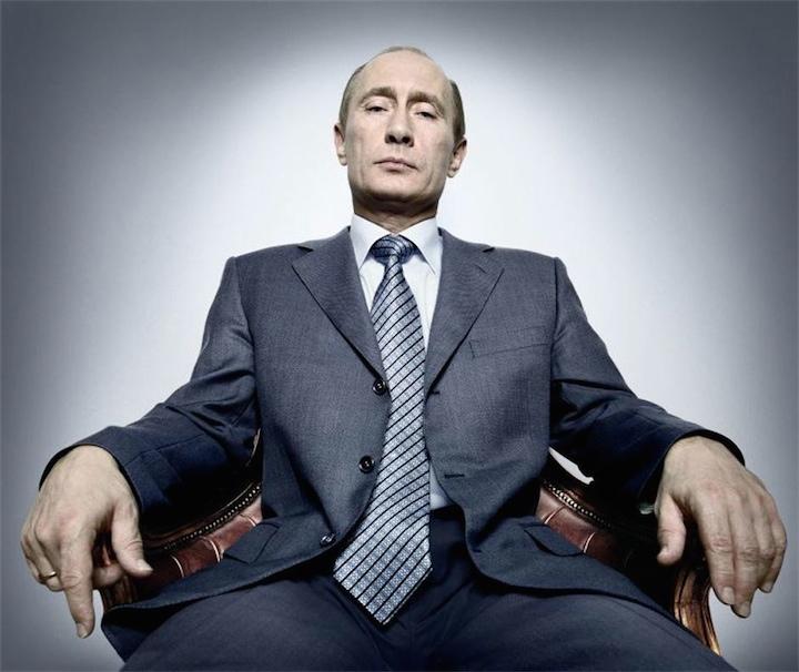 Путин зашкаливает!