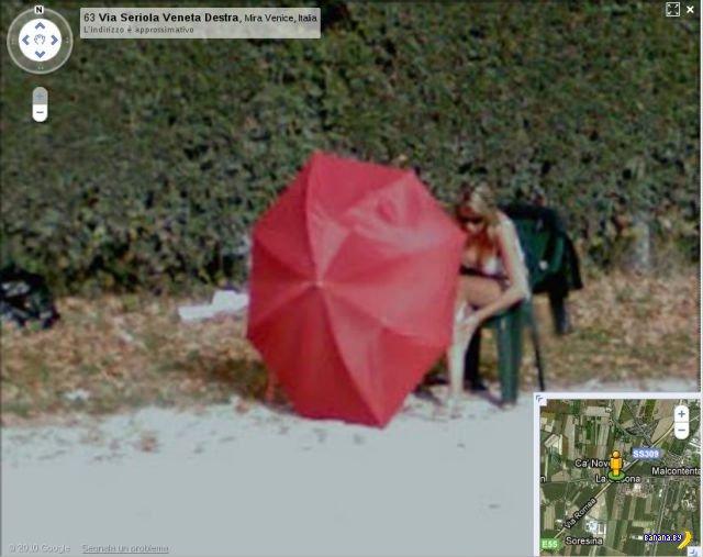 Путаны на картах Google