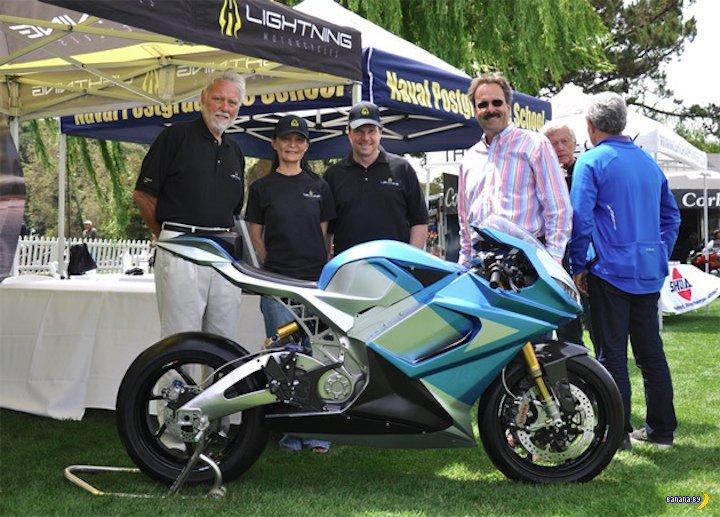 Самый быстрый электрический мотоцикл в мире