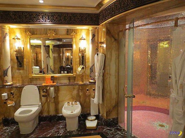 Королевский номер в Burj Al-Arab