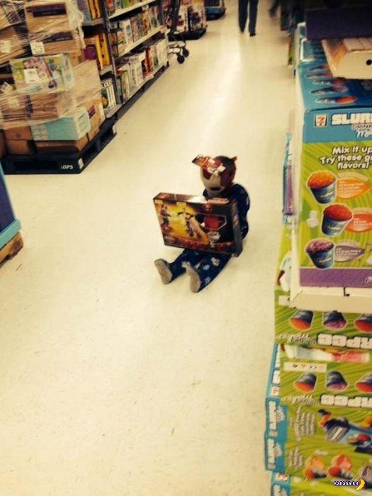 Дети против шоппинга