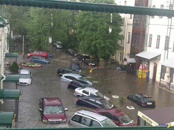 Город Минск погружается в бездну