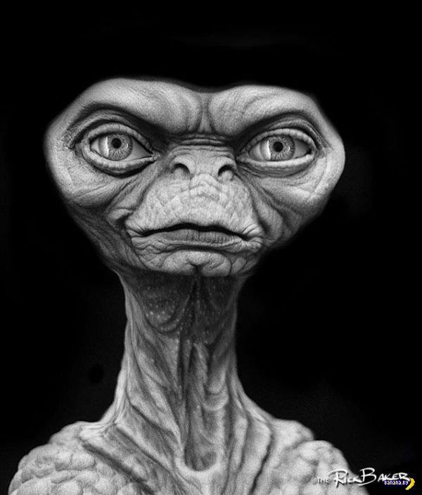 """Тот самый инопланетянин из фильма """"Инопланетянин"""""""