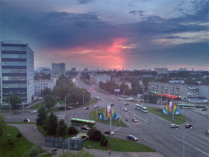 В Беларусь приходит холодная погода