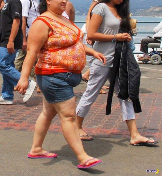 Показать всем свой жир