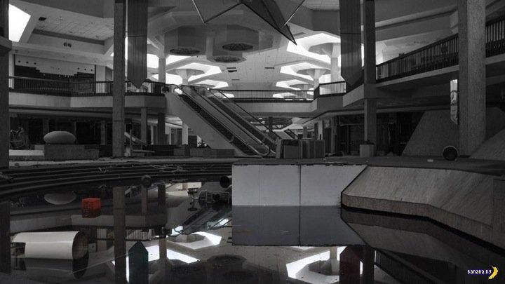 Заброшенный торговый центр в Огайо, США
