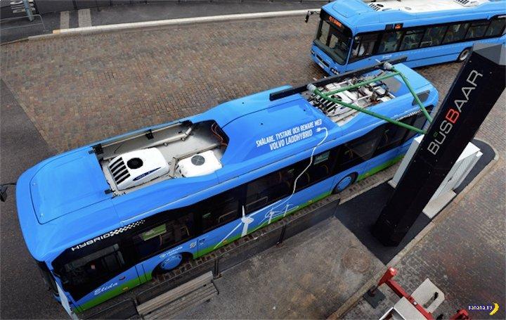 Volvo запускает уникальный автобус