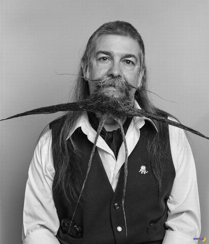 Фото с конкурса бородачей