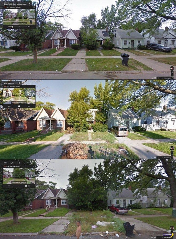 Как умирает Детройт
