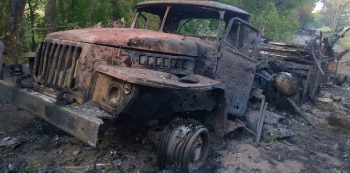 Сводка потерь украинской армии в Донбассе за май 2014 года