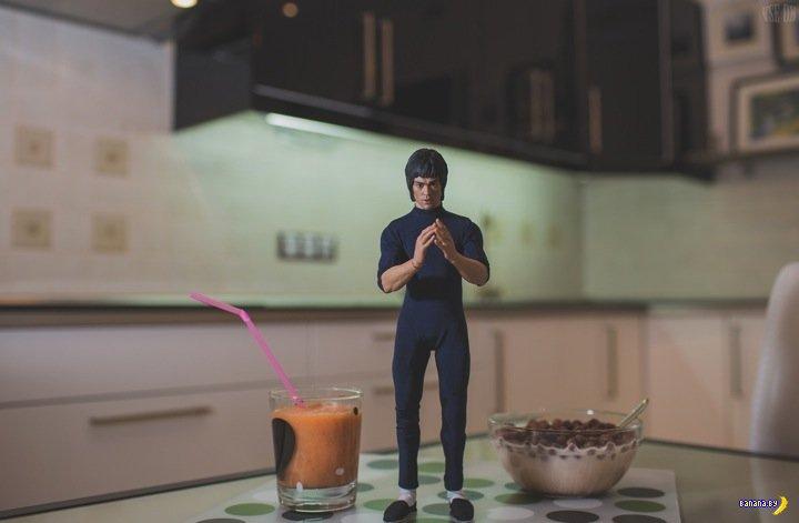 VSE OK - Брюс Ли и завтрак