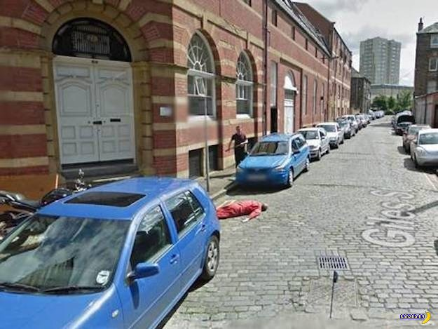 Полиции пришлось расследовать убийство на Google Street View