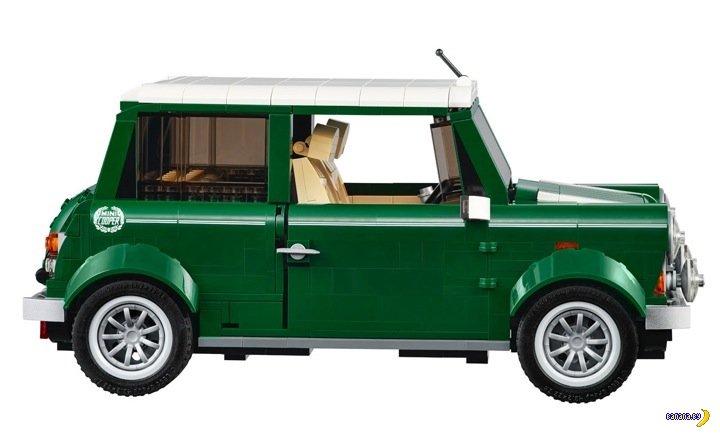 Mini Cooper из LEGO поступит в продажу