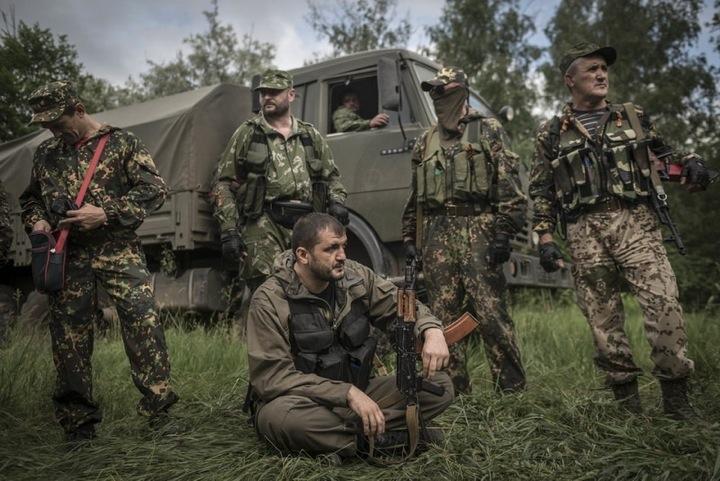 Бойцы из России — ключевые игроки сепаратистского ополчения Украины
