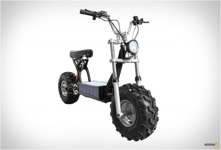 Электрический скутер для бездорожья