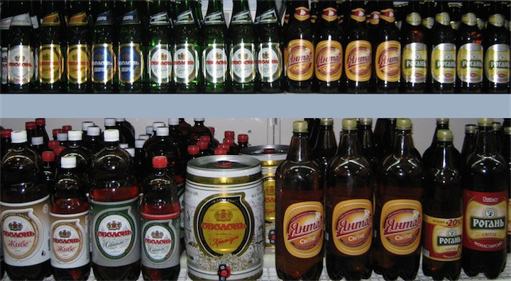Отвыкаем от украинского пива