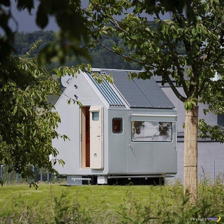 Проект Diogene - компактный домик для жизни