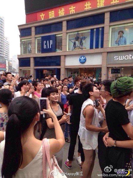 Конкурс на самый продолжительный поцелуй прошел в Китае