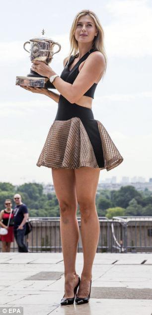 Мария Шарапова и ножки