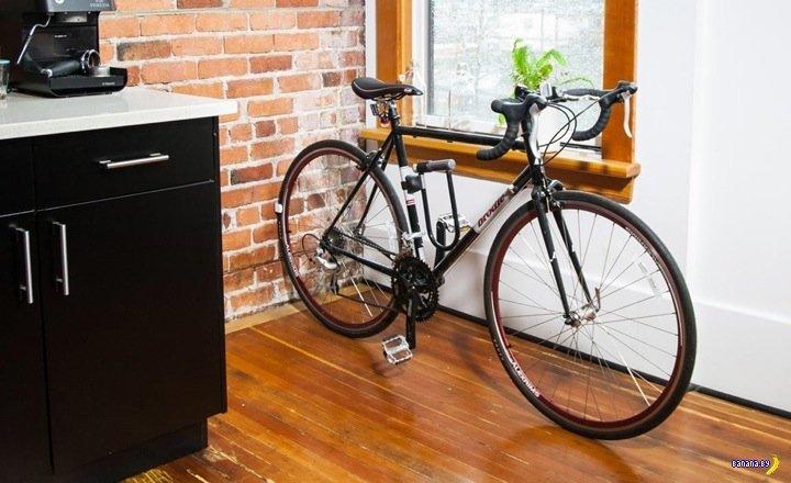 Устройство для хранения велосипеда