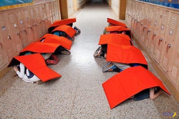 Проблема со стрельбой в школах США решена!