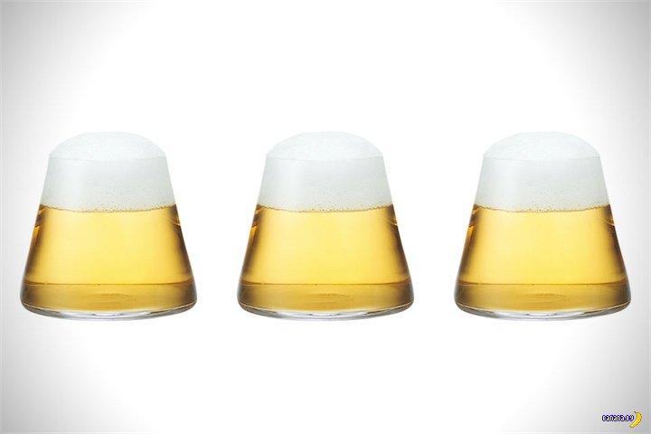 Новый тип пивных стаканов