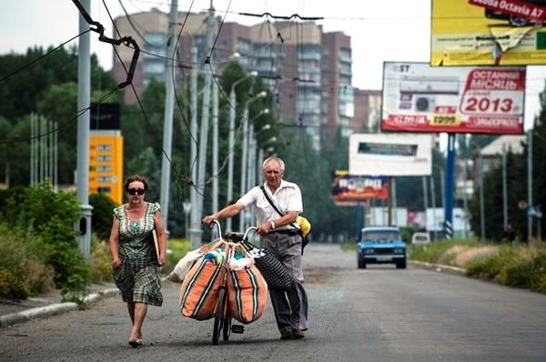 Фотографии из Славянска