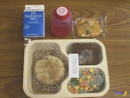 Тюремная еда в США