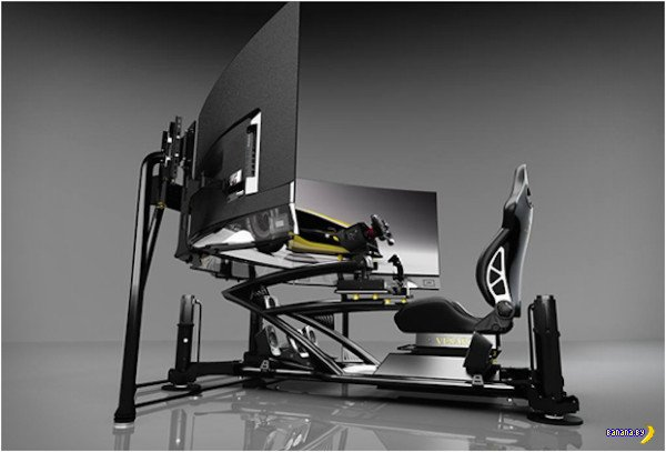 Vesaro Evolve Extreme Racing Simulator