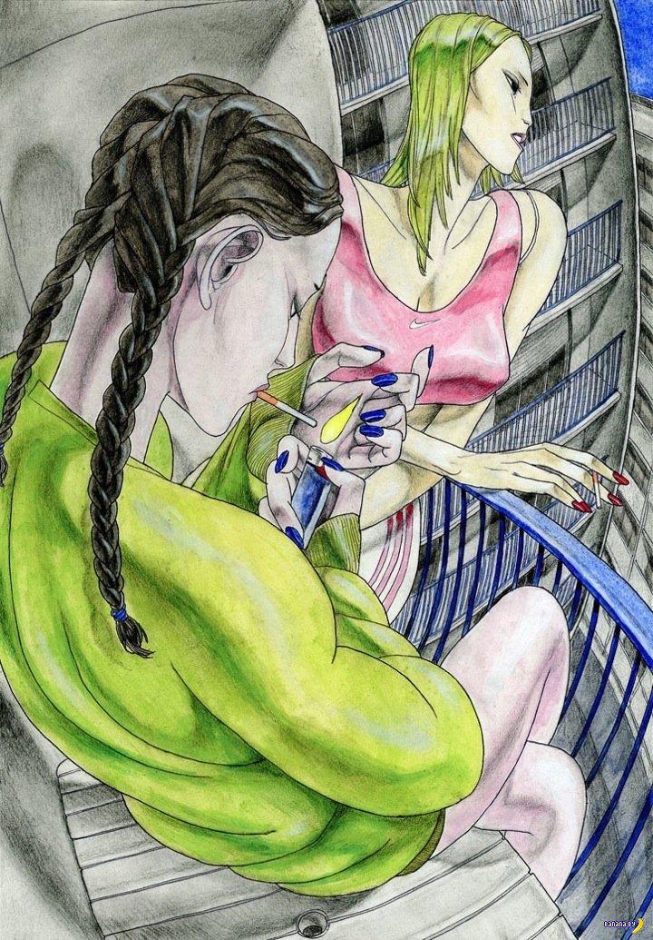 Рисует Принц Даймонд