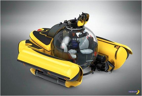 А кому компактную подводную лодку?