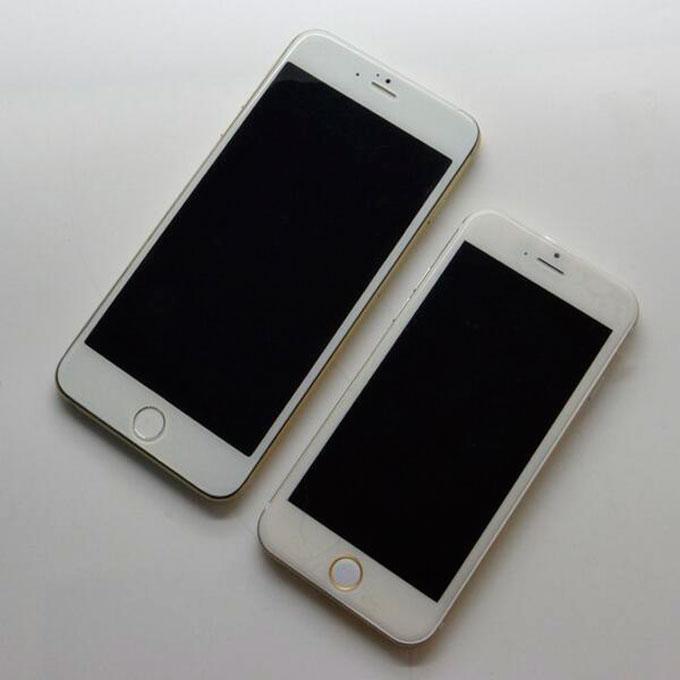 Показали макеты iPhone 6