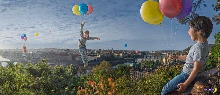 Сказочные миры фотографа Адриана Соммелинга