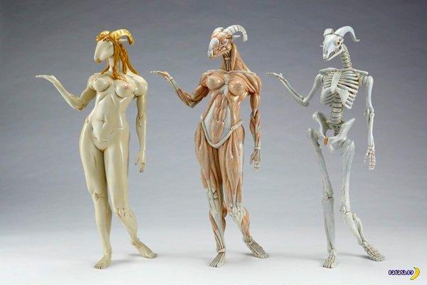 Скульптуры Масао Киношита