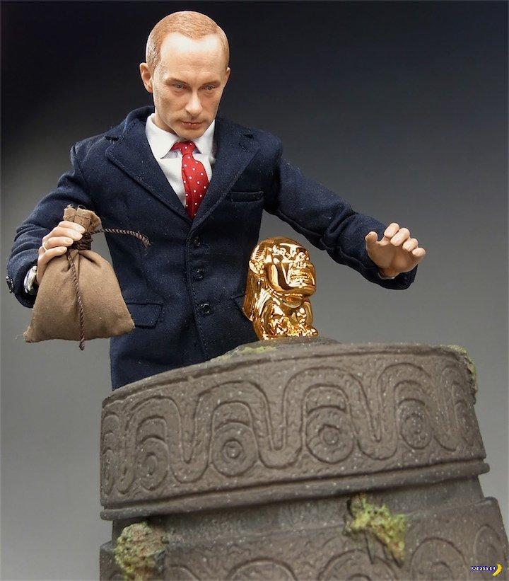 Коллекционная фигурка Владимира Путина