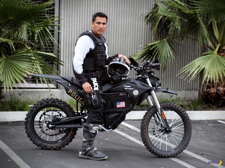 Мотоциклы-стелс для полиции