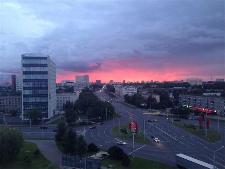 В Беларуси сохранится неустойчивая прохладная погода