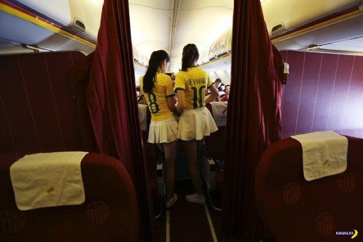 Китайские стюардессы подготовились
