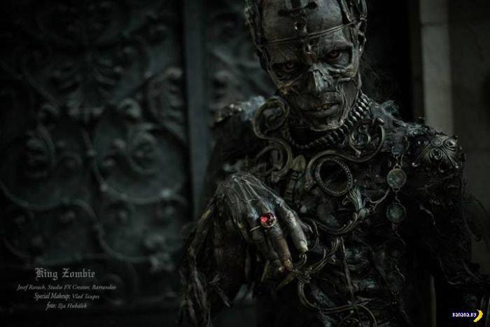 Самый лучший костюм зомби