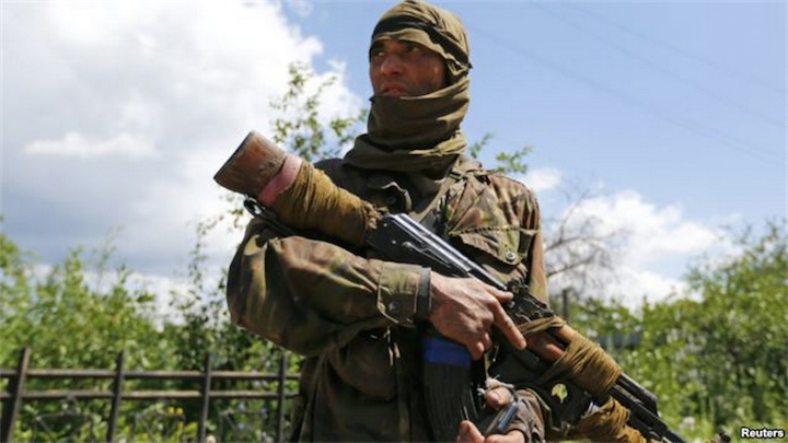 В ряды пророссийских ополченцев вступают узбеки