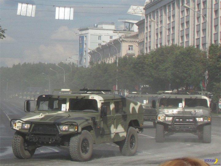 Белорусская армия на Humvee?!