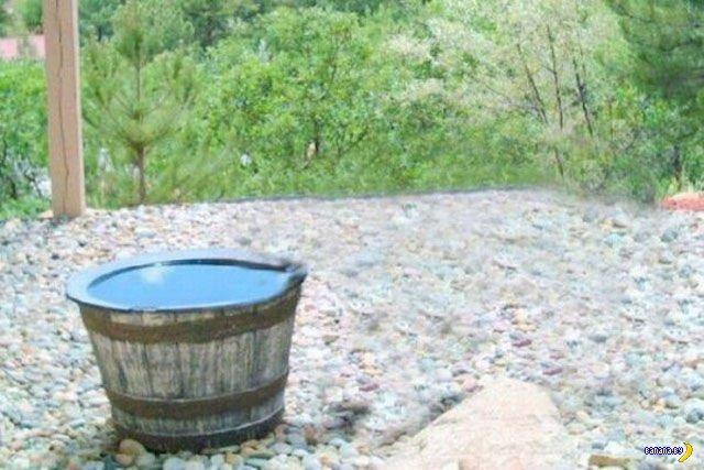 Куда пропадает вода?