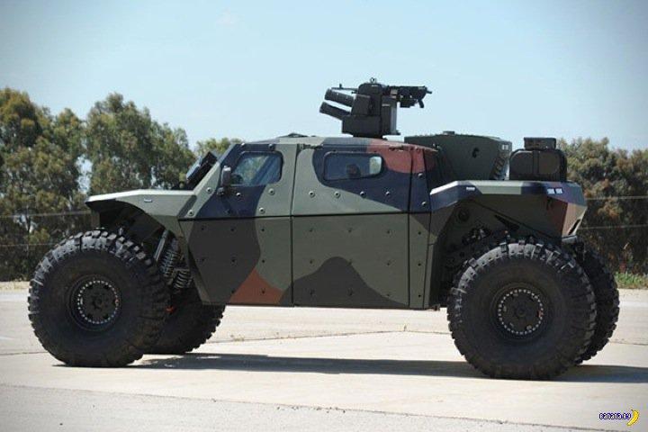 Новинка израильской военщины: CombatGuard