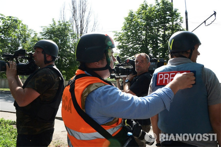 Еще один журналист убит на Украине