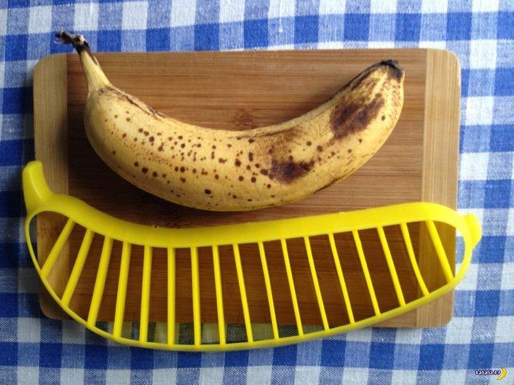 Tinydeal: странный слайсер для бананов